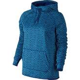 Nike Womens Therma All Time Mirror Mesh Pullover Hoodie