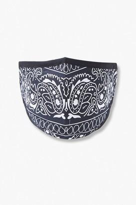 Forever 21 Ornate Paisley Face Mask