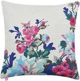 Joules Birchley Cushion - 40x40cm - Silver Floral