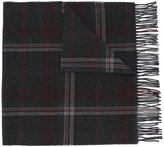 Polo Ralph Lauren checked fringed scarf - men - Wool - One Size