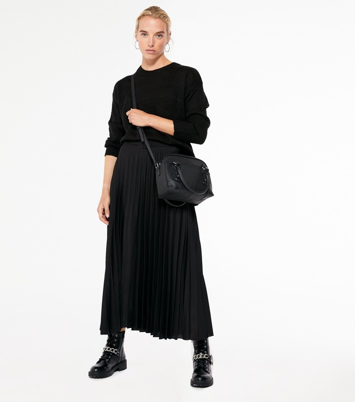 Thumbnail for your product : New Look Crew Neck Step Hem Jumper