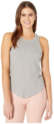 Beyond Yoga Keep In Line Tank (Light Heather Gray) Women's Clothing