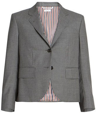 Thom Browne Classic Cropped Wool Jacket