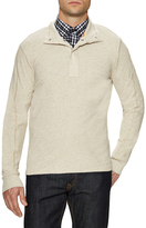 Jack Spade Barstow Cotton Half Snap Thermal Henley