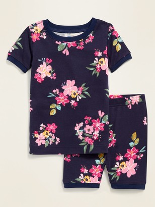 Old Navy Floral Pajama Set for Toddler & Baby