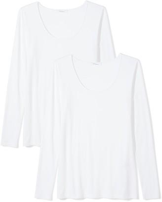 Daily Ritual Amazon Brand Women's Jersey Long-Sleeve Scoop Neck T-Shirt