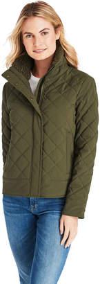 Vineyard Vines Short Quilted Sherpa Collar Jacket