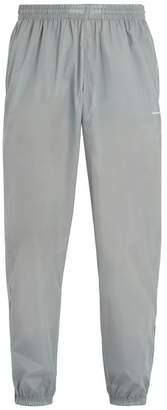 Balenciaga Logo-print Technical Track Pants - Mens - Grey