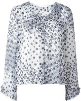 See by Chloe floral blouse - women - Cotton/Polyester/Viscose - 36