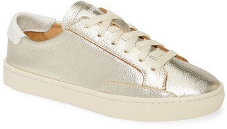 Soludos Ibiza Metallic Lace-Up Sneaker