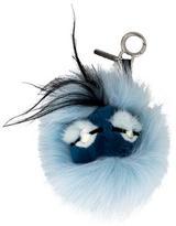 Fendi Fur Bag Bug Charm