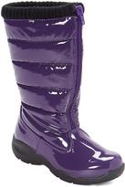 Tundra Purple Puffy Snow Boot