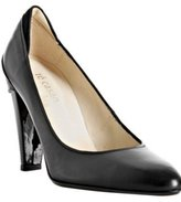 Te Casan Zoe Lee black leather 'Lucy' pumps
