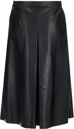 Maison Margiela Faux-Leather Skirt
