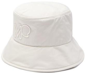 Moncler Logo-embroidered Bucket Hat - Camel