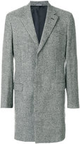 Lanvin single-breasted houndstooth coat