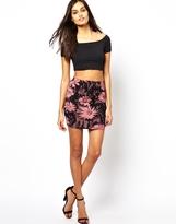 Club L Tube Bodycon Mini Skirt