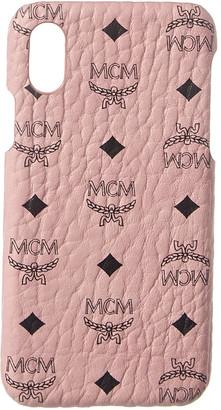 MCM Visetos Iphone X Case