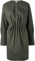 Kenzo tie-waist dressing - women - Cotton/Polyester - 32