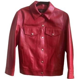 Louis Vuitton \N Red Leather Jacket for Women