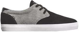 Globe Winslow (Black/Charcoal/White) Men's Skate Shoes