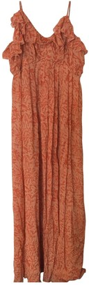 Joie \N Orange Silk Dress for Women