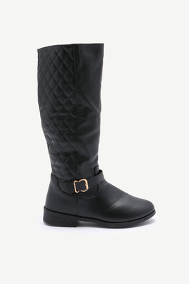 Ardene Quilted Knee High Boots