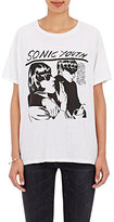 R 13 Women's Cotton-Cashmere Sonic Youth T-Shirt-WHITE