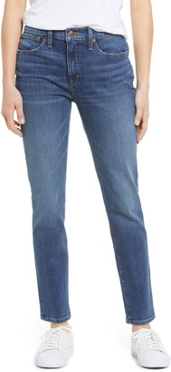 Madewell Tomboy Straight Jeans
