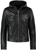 Oakwood Banco Leather Jacket Noir