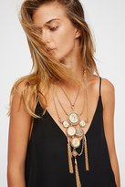 Free People Clustered Medallion Pendant