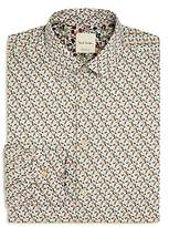Paul Smith Soho Tulip Print Slim Fit Dress Shirt