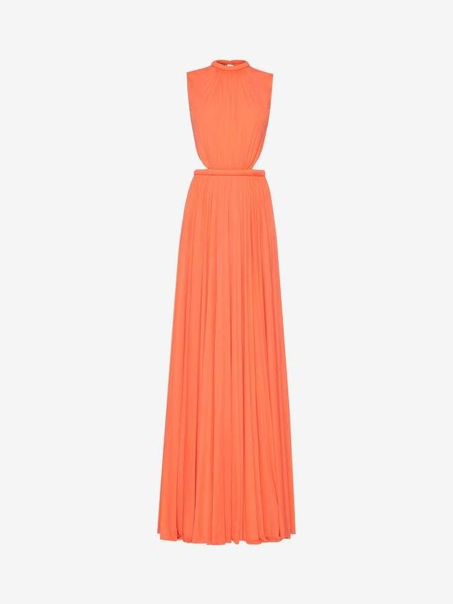 Alexander McQueen Sleeveless Jersey Evening Dress