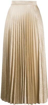 Pringle Pleated Midi Skirt