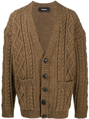 DSQUARED2 Button-Front Cardigan