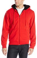 Southpole Men's Active Basic Full-Zip Sherpa-Lined Hoodie