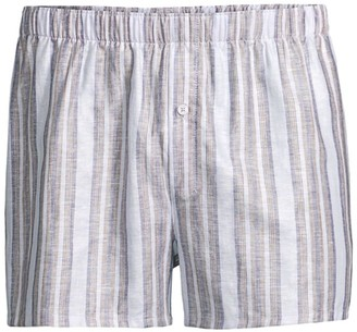 Hanro 2-Pack Fancy Woven Boxers