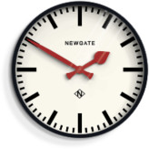 Newgate Large Putney Clock - Black