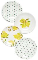 Kate Spade Lemon Melamine Tidbit Plates