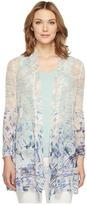 Nic+Zoe Azure Cardy Women's Sweater