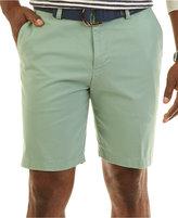 Nautica Men's Flat Front Deck Shorts