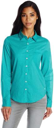 Dockers Women's Perfect Pattern Shirt
