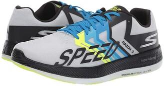 Skechers Go Run Razor 3 (Black/Green) Men's Lace up casual Shoes
