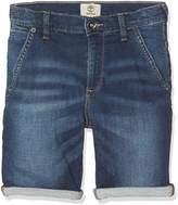 Timberland Boy's Denim Bermuda Shorts,(Manufacturer Size:08A)