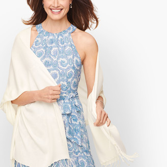 Talbots Solid Evening Wrap