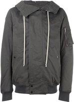 Rick Owens zip up hooded jacket