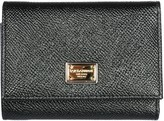 Dolce & Gabbana Wallet Leather Coin Case Holder Purse Card Trifold