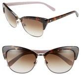 Kate Spade 'genette' 56mm Cat Eye Sunglasses