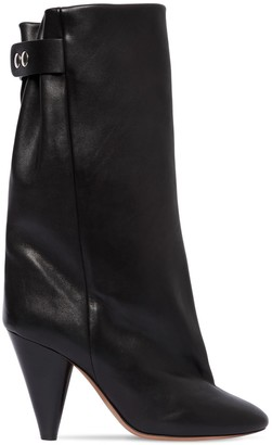 Isabel Marant 90mm Lakfee Tall Leather Boots