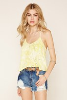 Forever 21 Abstract Print Strappy Cami